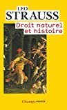 Droit naturel et histoire (French Edition) by Lï¿œO STRAUSS(2008-09-08) - FLAMMARION (ï¿œDITIONS) - 01/01/2008