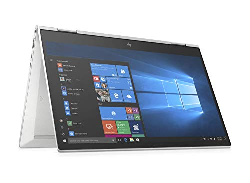 HP EliteBook X360 830 G7 13.3' Touchscreen FullHD IPS Laptop with HP SureView privacy screen - Core i7 10510U, 16GB DDR4, 1TB SSD, WIFI 6 & Bluetooth 5, Windows 10 Pro – UK Keyboard Layout (Renewed)