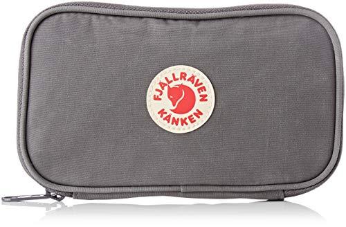FJÄLLRÄVEN Unisex-Erwachsene Kånken Travel Wallet Münzbörse, Super Grey, 19 cm