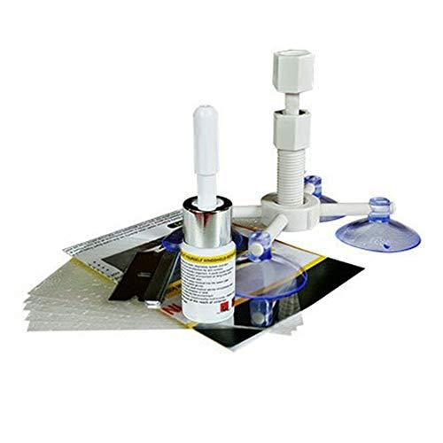 Proglam Glass Corrector Set Windschutzscheibe Windschutzscheibe Repair Kit Tool Riss Reparatur für Auto Fahrzeug
