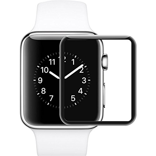 fenglang 2pcs premium delgado vidrio templado Film Protector de pantalla para Apple Watch 38mm 42mm