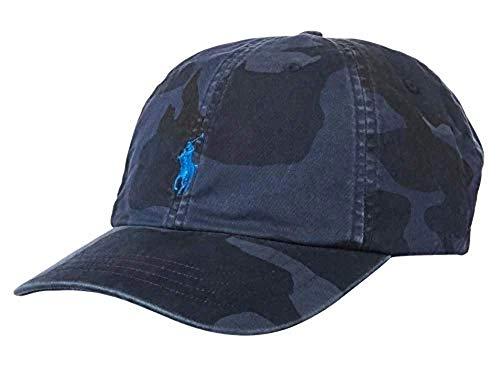 POLO RALPH LAUREN Mens Camouflage Sports Ball Cap Navy O/S