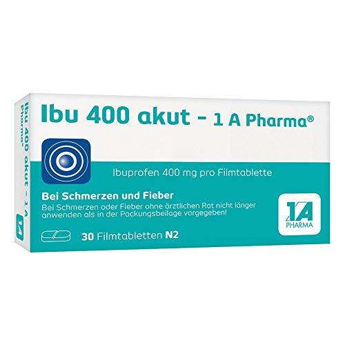 Ibu 400 akut - 1 A Pharma Filmtabletten, 30 St. Tabletten