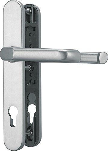 ABUS Tür-Schutzbeschlag SRG92 F1 mit beidseitigem Drücker, aluminium, 22265