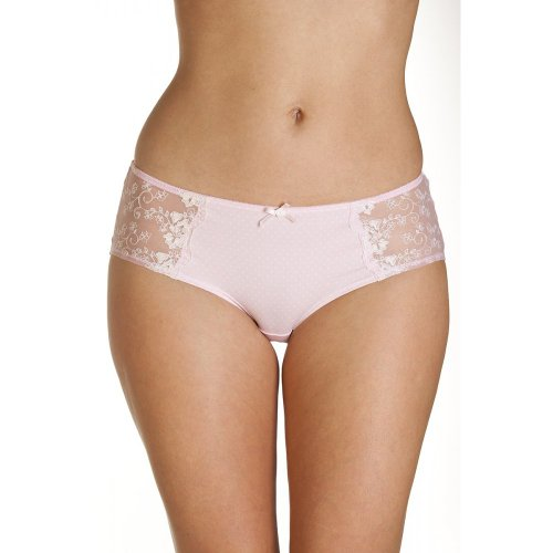 Shorty de lunares – Rosa