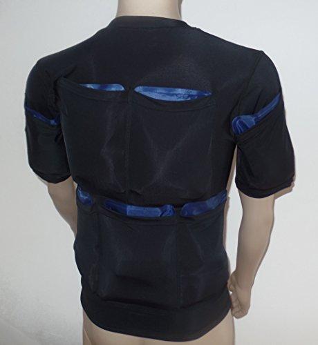 Quemar Grasa Con Frío - Poderosa Camiseta Enfriadora Para Adelgazar 5400G - Tamaño XL - Compresas De Frío No Incluidas