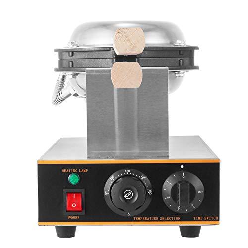 VEVOR Commercial Egg Waffle Make 220V 1400W Bubble Waffle Maker Stainless...