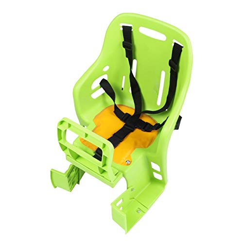 Great Features Of QFDYEQF128 Bicycle Back Seat Quick Release Children Bike Seat Bicycle Back Adjusta...
