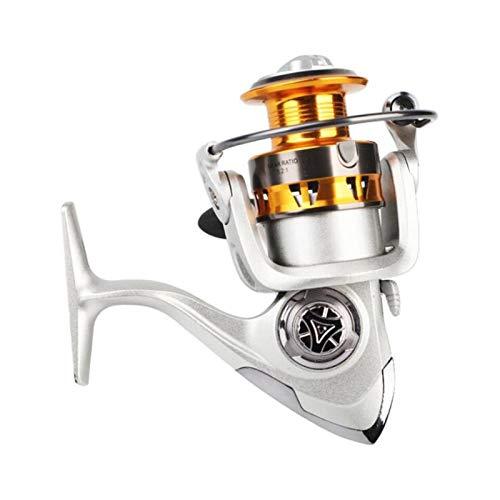 yaohuishanghang carretes de Pesca girando Carrete de Pesca HC3000 y rodamientos de HC5000ball 12BB Spinning Reel Configuración de Metal Herramienta de Pesca Carrete de baitcasting