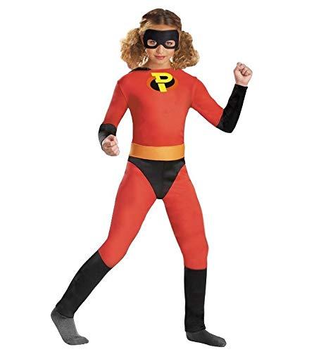 Partylandia Disfraz de Niña Hero - Niña, de 10 a 12 años