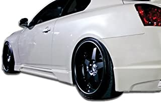 Extreme Dimensions Duraflex Replacement for 2008-2015 Infiniti G Coupe G37 Q60 TS-1 Side Skirts Rocker Panels - 2 Piece