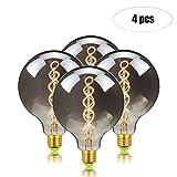 GYC LED-Glühlampe, Dimmbare Flexible Lichtleiste, Doppelspiraldraht, dekorative Lichtquelle, Energiesparlampe (4 PCS/Pack) (Size : G125/220V)