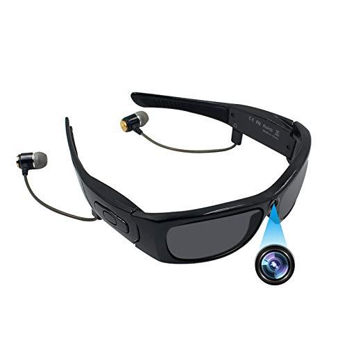 Bluetooth Sunglasses Camera, ZDMYING Full HD 1080P Wearable Glasses...