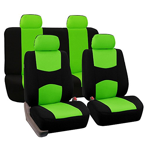 neon green seat covers - 1