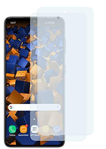 mumbi Schutzfolie kompatibel mit Samsung Galaxy S21 Folie klar, Bildschirmschutzfolie (2X)