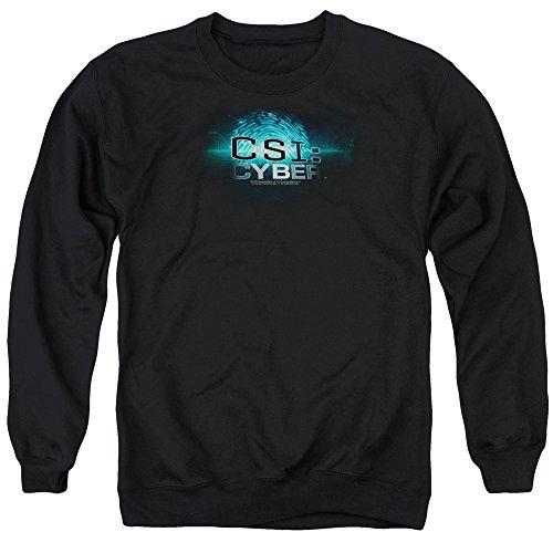CSI: Cyber - Csi: Cyber ??- Thumb Imprimer Pull Hommes, Large, Black