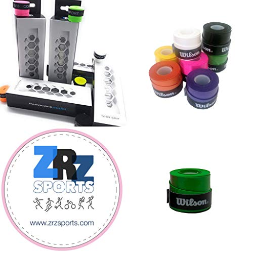 ZRZ Pack Grip Padel HESACORE Tour Grip + 1und overgrip