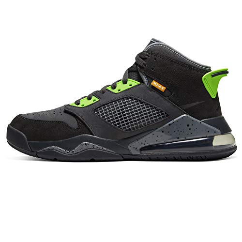 Nike Jordan Mars 270, Scarpe da Basket Uomo, Anthracite/Black-Electric Green, 47 EU