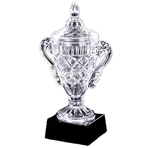 NQO Trofeo de los Campeones Trofeo de Competición, Trofeo de Cristal Medalla de Fútbol de Baloncesto Trofeo de Campeonato deportivo 31 cm de alto