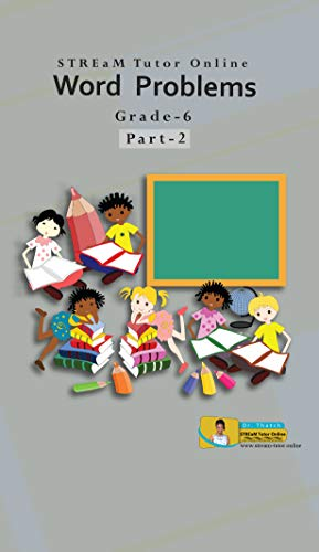 Word Problems eBook for Grade 6: Part-2 (English Edition)