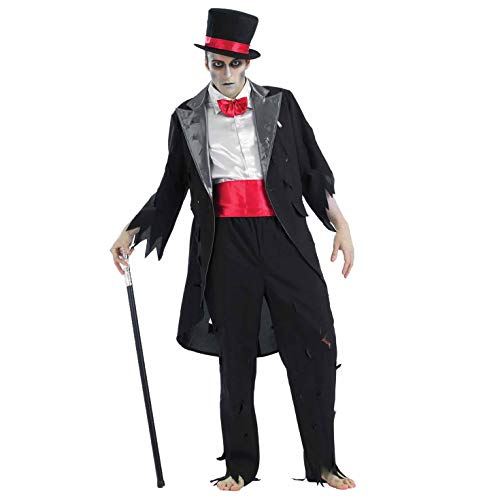 Mens Corpse Groom Halloween Fancy Dress Costume Size 46/48 - X-Large (disfraz)