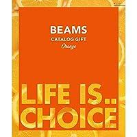 BEAMS CATALOG GIFT ビームスカタログギフト Orange オレンジ 3,000円コース 包装紙:ハッピーバード