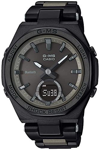 [カシオ] 腕時計 ベビージー G-MS Bluetooth ソーラー MSG-B100CB-3AJF レディース ブラック