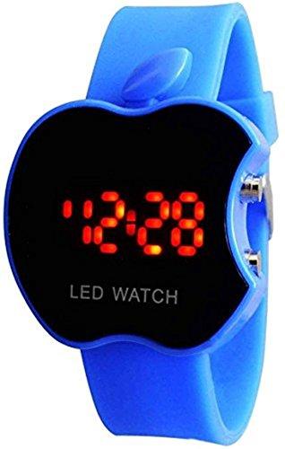 Swissrock - Orologio da polso digitale a LED, colore: Blu
