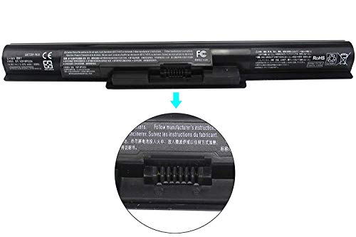VGP-BPS35A VGP-BPS35 Sostituzione della batteria del laptop per Sony VAIO E341239 SVF152C29M SVF142C29M SVF1521A1EW SVF1521A2E SVF1521A2EB SVF15217SC SVF14215SC SVF15218SC SVF15216SC (14.8V 40Wh)