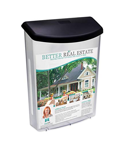 Source One Premium Large Outdoor Real Estate Style Brochure Holder