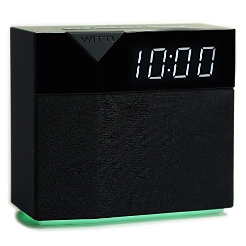 WITTI BEDDI Style | App Enabled Smart Alarm Clock with Bluetooth Speaker & USB