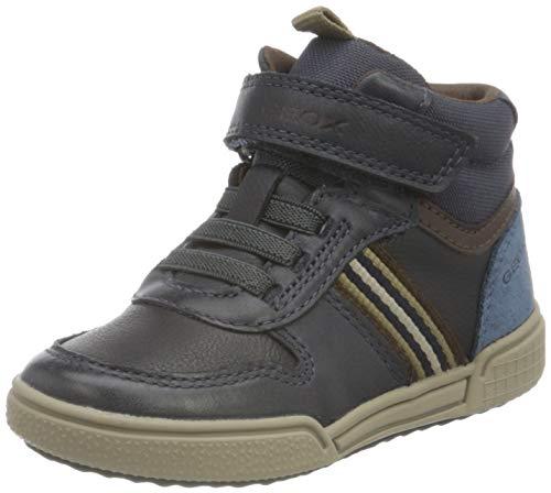Geox Buty chłopięce J Poseido Boy B Sneaker, Navy Brown, 25 EU