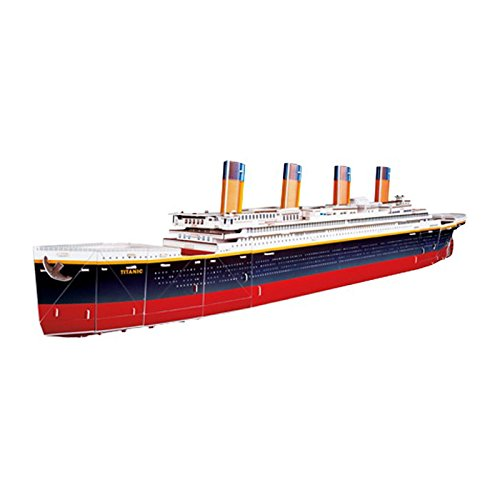 Small Foot - Puzzle 3D Titanic (133 piezas) , color/modelo surtido