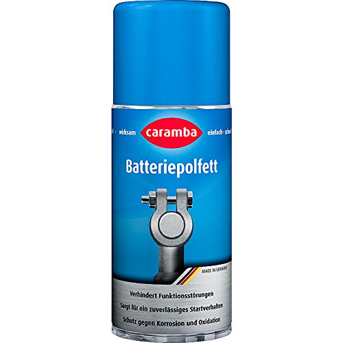 Caramba Batteriepolfett 100 ml Spray, Multipurpose, Ganzjährig