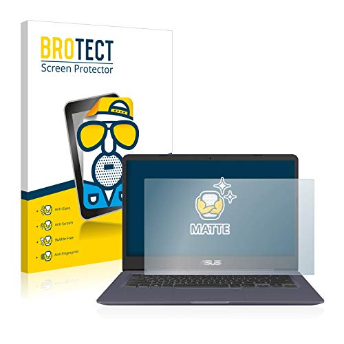 BROTECT Entspiegelungs-Schutzfolie kompatibel mit Asus VivoBook S14 S406UA Bildschirmschutz-Folie Matt, Anti-Reflex, Anti-Fingerprint