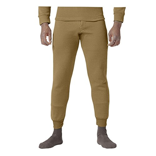 Rothco ECWCS Poly Bottoms, Coyote Brown, Large