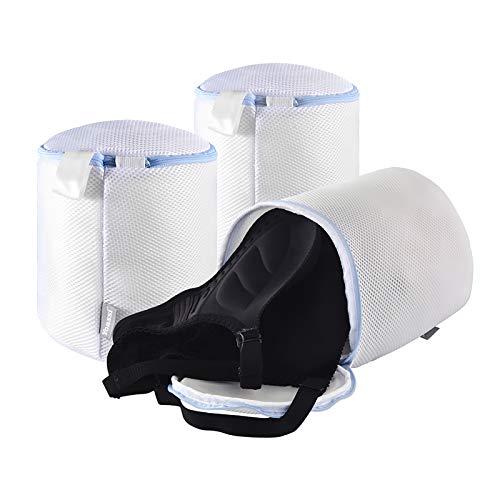 Yoassi- 3 pcs Bolsa de Lavadora Sujetador, Bolsas de Malla para Ropa Delicada, Bolsa para Lavadora Secadora para Ropa Interior Calcetines, ideal para viaje