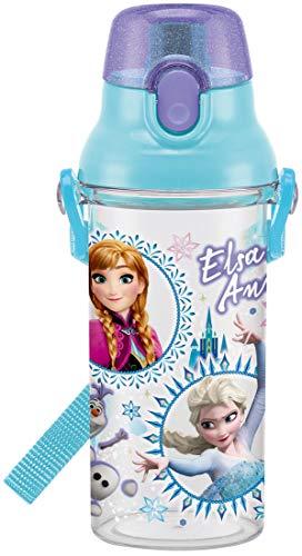 スケーター 子供用 水筒 クリアボトル 480ml アナと雪の女王 19 PSB5TR