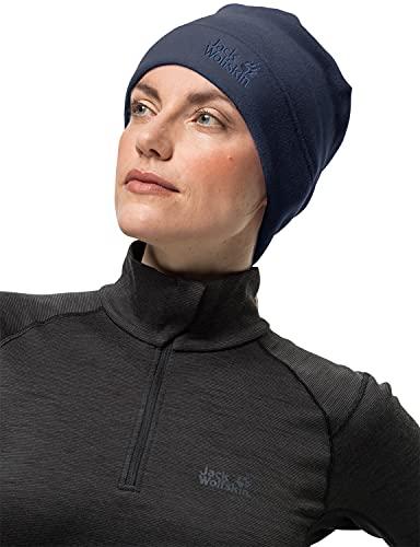 Jack Wolfskin Unisex REAL STUFF CAP Mütze, night blue