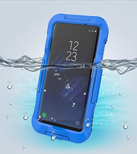 WLWLEO beschermhoes voor Samsung S8 Caso Plus +, volledig waterdichte behuizing van de mobiele telefoon, waterdicht, bescherming tegen vuil