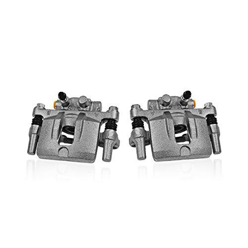 Callahan CCK06710 [2] REAR Premium Original Brake Calipers Pair + Hardware [fit Toyota Prius Plug-In]