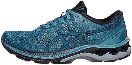 ASICS Men's Gel-Kayano 27 Running Shoes, 10.5M, Grey Floss/Black