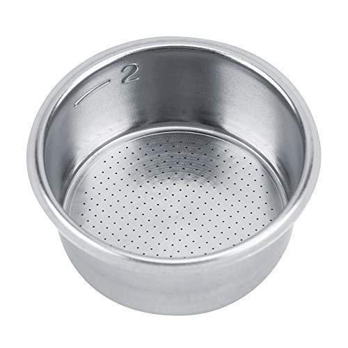 Canasta permanente reutilizable para 4-5 tazas, filtros de café para 4 tazas, cafetera y cafetera Breville de acero inoxidable de ajuste perfecto, reemplaza 4 tazas de filtros de café Mr Coffee Tone