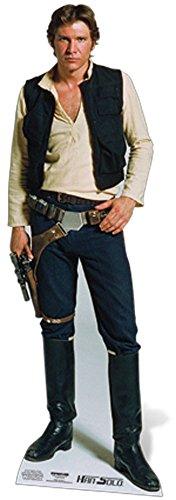 empireposter Star Wars Han Solo Silhouette en carton Standy env. 183 cm