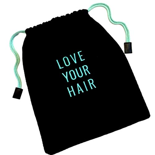 """Hair Dryer Bag - Storage Organizer for Styling Tools - with Internal Compartment and Drawstring (15"""" x 12"""") - Ideal for Use at Home, Traveling, Guest Rooms, Airbnb's and Hotels"""