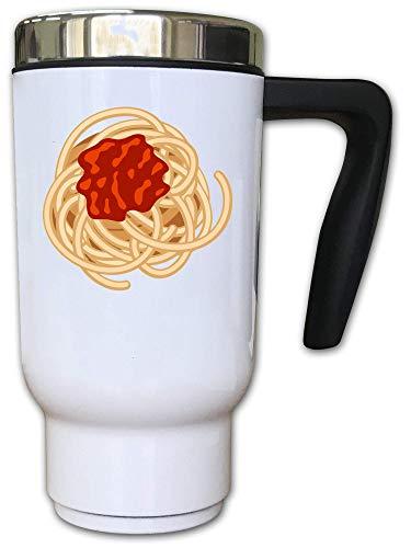 Iprints Minimalistic Italian Spaghetti Cartoon Graphic Thermal Thee Coffee Mok