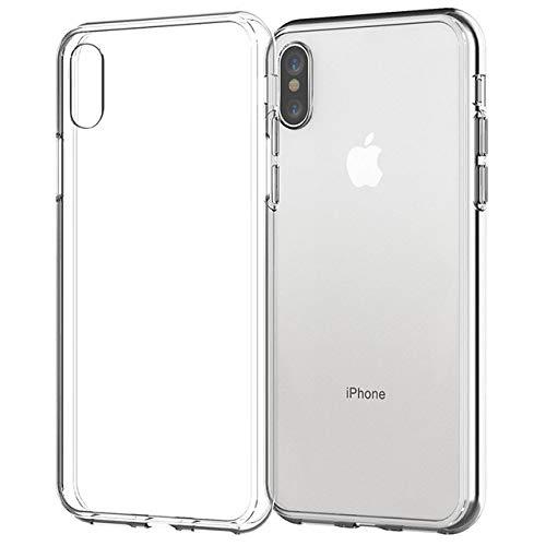 Funda Ultrafina Transparente para teléfono para iPhone 11 7 Funda de Silicona Suave contraportada para iPhone 11 12 Pro XS MAX X 8 7 6s Plus 5 SE XR Funda, Transparente, para iPhone 5 5s se
