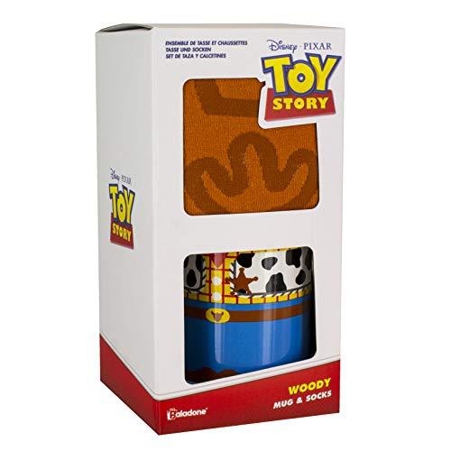 Disney Set de Regalo Toy Story Taza y Calcetines Woody