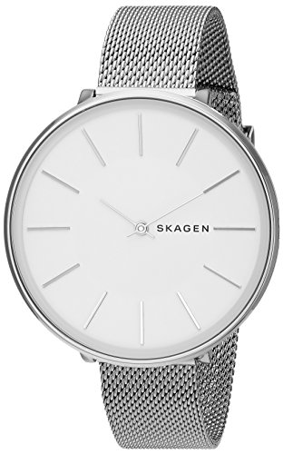 Skagen Damen Analog Quarz Uhr mit Edelstahl Armband SKW2687