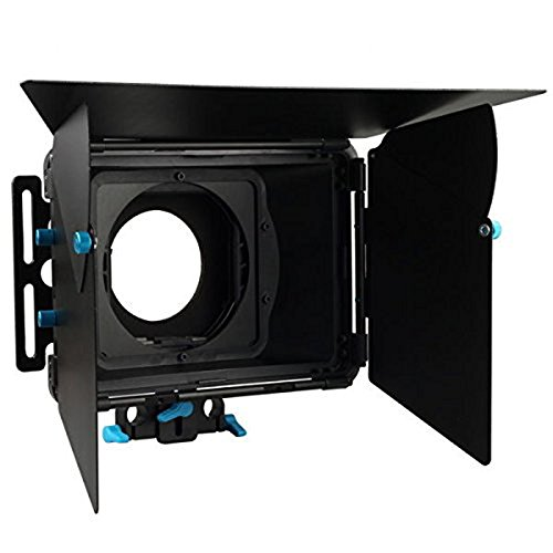 FOTGA DP3000 M2 Pro Matte Box Sunshade with Donuts & Filter Trays for 15mm Rod DSLR Rig 5D II III 7D 6D D90 GH2